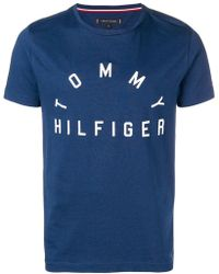 Tommy Hilfiger - Brand Print T-shirt - Lyst
