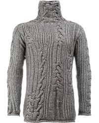 Rochas - Thick Knit Sweater - Lyst