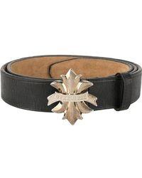 DSquared²   Logo Fleur-de-lis Buckle Belt   Lyst