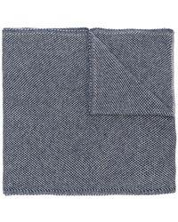 Dell'Oglio - Textured Knit Scarf - Lyst