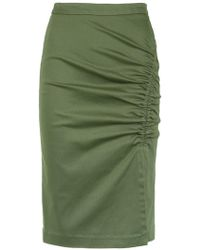 Isolda - Heliconia Pencil Skirt - Lyst