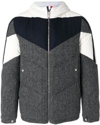 Moncler - Hooded Bomber Jacket - Lyst