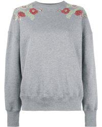 Alexander McQueen - Embellished Sweatshirt - Lyst