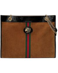 Gucci - Maxi Tote With Tiger Head - Lyst