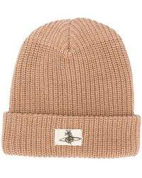 Vivienne Westwood - Ribbed Knit Beanie - Lyst