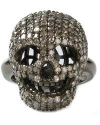 Christian Koban   'skull' Diamond Ring   Lyst
