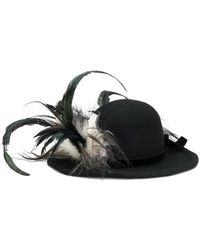 Ann Demeulemeester - Lievre Decorated Hat - Lyst