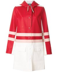Marni - Striped Raincoat - Lyst