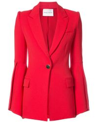 Prabal Gurung - Bell Sleeve Fitted Jacket - Lyst