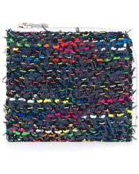 Coohem - Knit Tweed Medium Wallet - Lyst