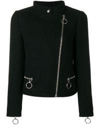 Moschino - Zipped Jacket - Lyst