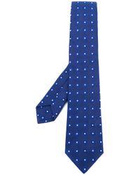 Kiton - Square Print Tie - Lyst