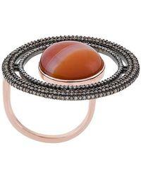 Astley Clarke   Agate Saturn Ring   Lyst