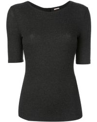 Adam Lippes - Ribbed Jersey T-shirt - Lyst