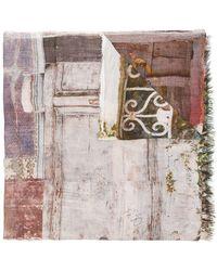 Faliero Sarti - Doors Printed Scarf - Lyst