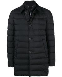 Herno - Double Layer Duffle Coat - Lyst