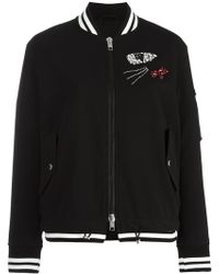 Ermanno Scervino | Embellished Bomber Jacket | Lyst