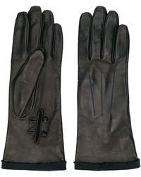 Lanvin - Leather Gloves - Lyst