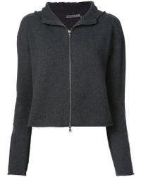Transit - Knitted Cropped Hoodie - Lyst