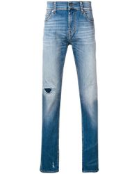 7 For All Mankind - Ronnie Skinny Jeans - Lyst