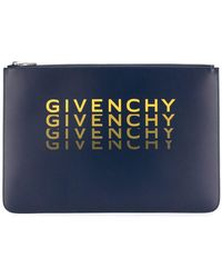 Givenchy - Xl Zipped Pouch - Lyst
