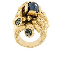 Koche - Embellished Statement Ring - Lyst