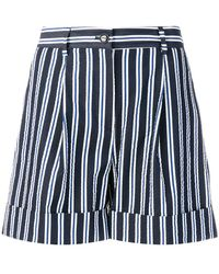 P.A.R.O.S.H. | Casual Striped Shorts | Lyst