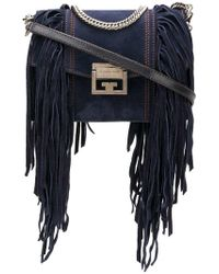 Givenchy - Fringes Small Gv3 Bag - Lyst