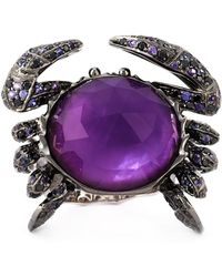 Stephen Webster - 'crab Crystal Haze' Ring - Lyst