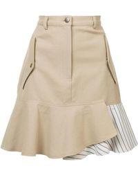 Nicole Miller   Asymmetric Pocket Skirt   Lyst