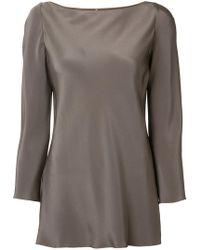 Peter Cohen | Long-sleeve Silk Blouse | Lyst