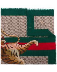 Gucci | Bengal Print Scarf | Lyst