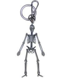 Alexander McQueen - Llavero con diseño de esqueleto - Lyst