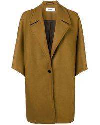 Chalayan - Pleat Shoulder Coat - Lyst