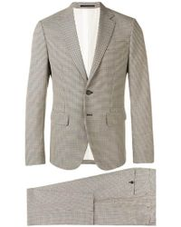 DSquared² - Two-piece Check Suit - Lyst