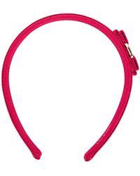 Ferragamo - Bow Headband - Lyst