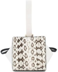 Vionnet - Python-effect Mini Bag - Lyst