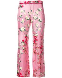 F.R.S For Restless Sleepers - Cropped Floral Trousers - Lyst