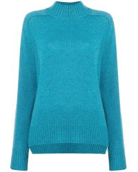 Allude - Turtle Neck Jumper - Lyst