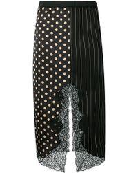 Antonio Marras - Printed Asymmetric Skirt - Lyst
