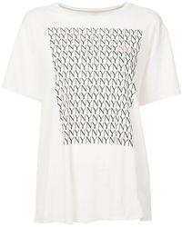 6397 - Nyny Printed T-shirt - Lyst