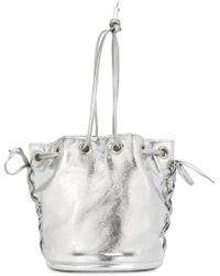 G.v.g.v - Side Laced Bucket Shoulder Bag - Lyst
