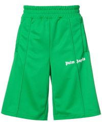 Palm Angels - Side-striped Track Shorts - Lyst