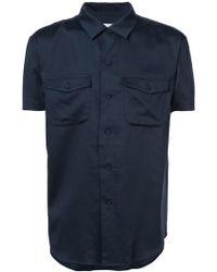 Julien David - Classic Sleeveless Shirt - Lyst