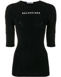 Balenciaga - Athletic Top - Lyst