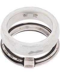 Werkstatt:münchen - Embellished Ring - Lyst