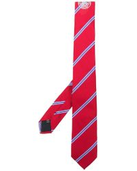 MSGM - Diagonal Stripe Necktie - Lyst
