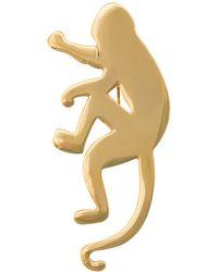 Oscar de la Renta - Monkey Brooch - Lyst