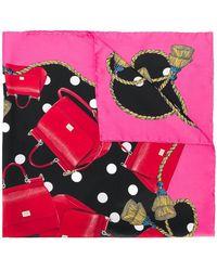 Dolce & Gabbana - Pañuelo estampado - Lyst