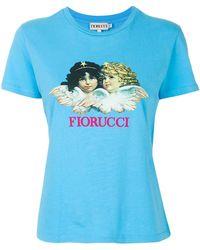 Fiorucci - T-shirt Con Angeli - Lyst